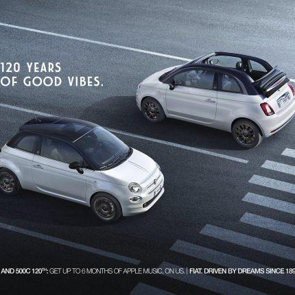 Fiat 500 Dolcevita Leo Burnett Italia
